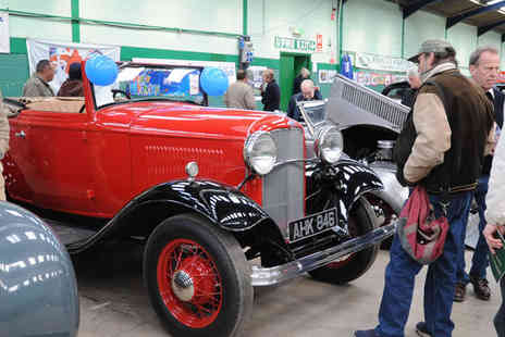 Bristol Classic Car Show Events - Two Tickets to The Footman James Classic Vehicle Restoration Show - Save 50%
