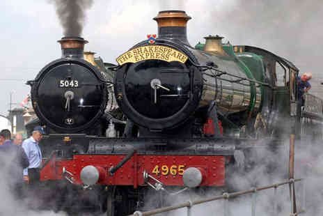 Vintage Trains - Entrance to Tyseley Locomotive Works Steam Open Day for One - Save 50%