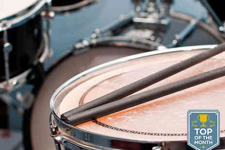 Newcastle Drum Centre - 30 Minute Drum Lesson - Save 64%