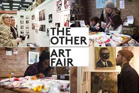 The Other Art Fair - Over 100  Artists 20 Innovative Galleries 1 weekend! - Save 50%