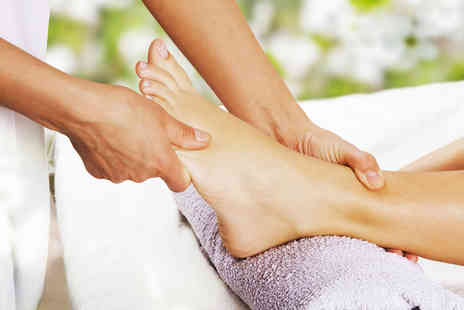 The Reflexology Space - Medical reflexology session - Save 72%