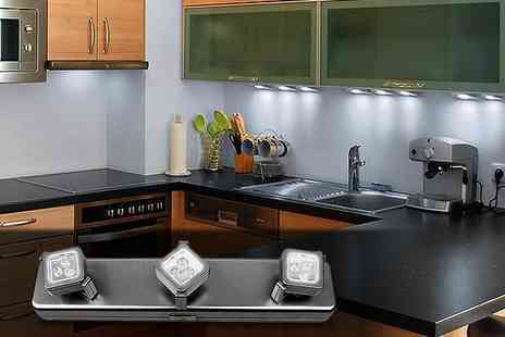 Better Bargains - Light up your life with two sets of under cabinet LED lights - Save 52%