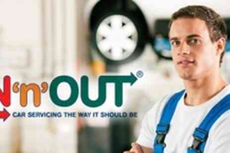 In n Out - Xpress MOT With Oil and Fluid Top Ups - Save 60%