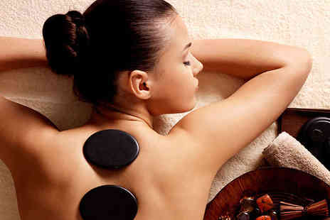 Brown Cow Salon - Hot Stones Massage Scalp Massage and Express Facial - Save 62%