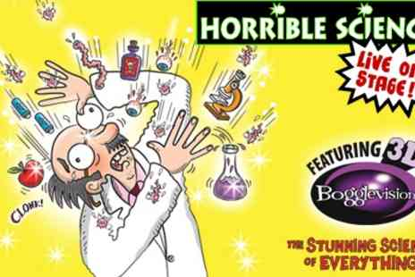 Birmingham Stage Company - Tickets To Morning Show Horrible Science Great Family Show  - Save 50%