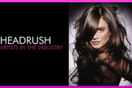 Headrush - Wash, Restyle Cut, Intensive Hair Mask & Head Massage - Save 55%