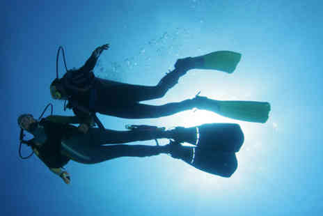 Fins Scuba - Full day PADI open water referral course - Save 65%