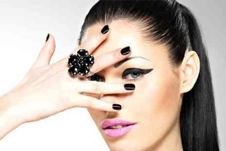 Charisma Divine Hair and Beauty - Shellac Nails Plus Mani or Pedi - Save 50%