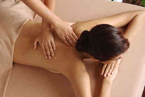 Beauty and the Spa - Back Neck and Shoulders Massage with Facial - Save 58%