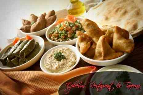 Ephesus Liverpool - Turkish Feast For Two with 15 Dishes for £36 - Save 64%