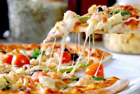 Da Mimmos - Pizza or Pasta With Wine For Two Four or Six- Save 48%