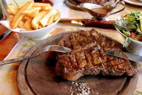 Kings Arms - Rib Eye Steak With Sides for Two - Save 56%