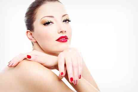 Glam - Shellac Manicure and Express Facial - Save 57%