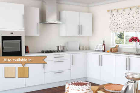 Clearance Kitchens - Complete fitted kitchen in a choice of colours - Save 45%