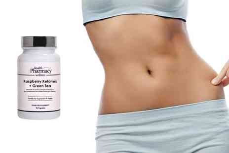 Skin Research - Raspberry Ketone and Green Tea Capsules - Save 50%