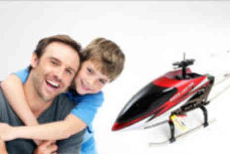 GeneeWeene - XL remote controlled helicopter  - Save 63%