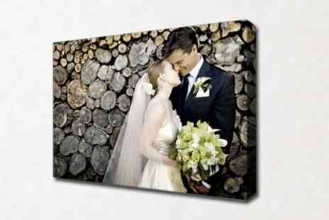 Photo Zone - Personalised Canvas Print - Save 73%