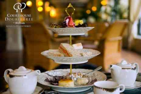 Courthouse Doubletree Hilton Hotel - Traditional Afternoon Tea for Two With Piper-Heidsieck Champagne for £31 - Save 58%