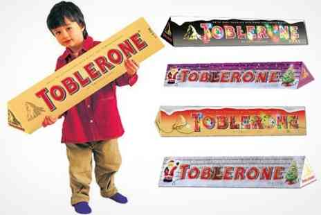 Premium Brands 4 Less - Toblerone Choice of 400g Chocolate Bar Flavour - Save 50%