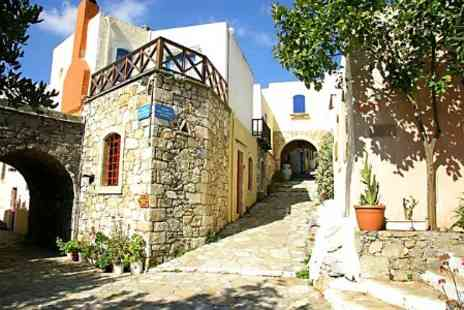 Arolithos Traditional Village Hotel - In Crete Three Nights For Two With Activities - Save 51%
