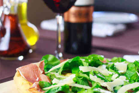Seasons Italian Restaurant - Two Course Pizza or Pasta Meal with Wine for Two - Save 54%