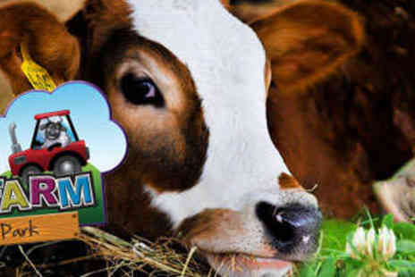 Marsh Farm Animal Adventure Park - Entry for One Adult and One Child  - Save 56%
