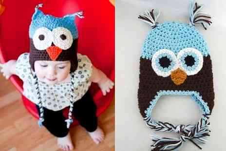 Mun and Me - Greet winter in style cute owl beanie hat for babies - Save 66%