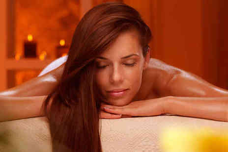 Butterfly Lounge Aesthetics - Body Wrap with Microdermabrasion Facial - Save 62%