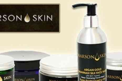 Narson Skin - £15 for £40 voucher towards Moroccan Argan Oil Beauty Products - Save 63%