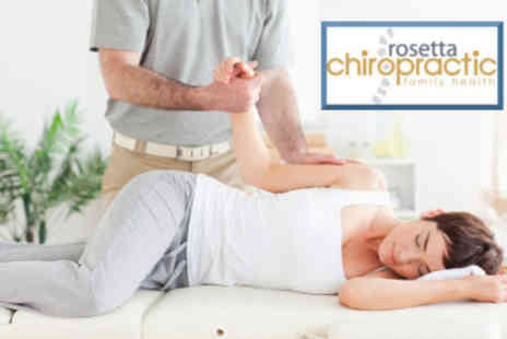 Rosetta Chiropractic - Complete Chiropractic Consultation including Digital Scan, Report of Findings and 2 Treatments - Save 69%