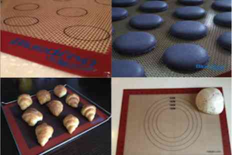 Dodally Buys - Bluedrop Nonstick Silicone Baking Mat Non Stick And Easy To Clean  - Save 63%
