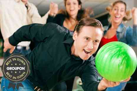 Cinebowl - Bowling and Ice Skating With Shoe and Skate Hire - Save 50%