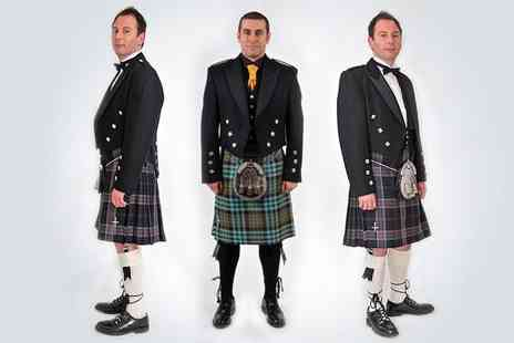 Nicolson Kiltmakers - Get dressed up for all the winters big occasions with three day kilt and accessory hire - Save 54%
