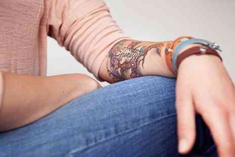 Inky Swallows - One Hour Tattoo Session With Consultation - Save 55%