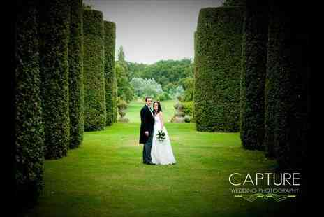 Capture Wedding Photography - An Eight Hour Wedding Photography Package including 300 images on pen drive - Save 46%
