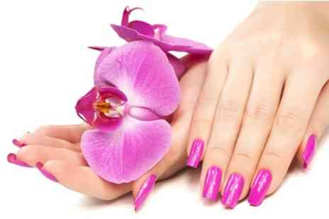 Blossoms Beauty - Shellac Manicure or Pedicure - Save 50%