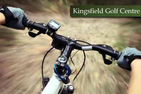 Kingsfield Golf Centre - Day of Mountain Bike Hire for Two for £14 - Save 53%