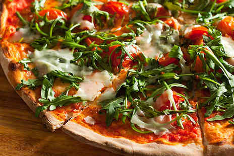Little Pizza Kitchen - Two Course Lunch Each with Side for Two - Save 53%