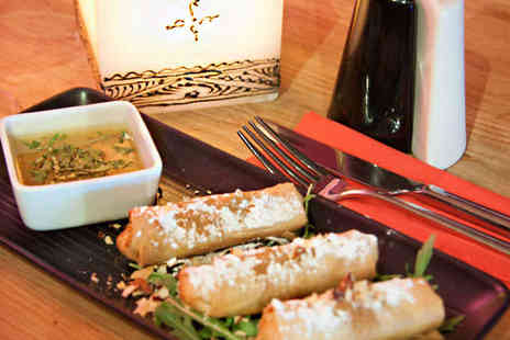 Sahara Shoreditch - Starter Main and Glass of Wine Each for Two - Save 56%