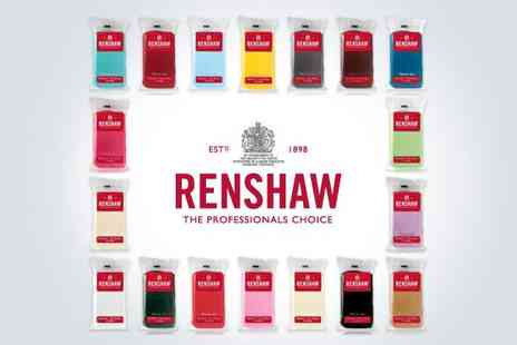 Renshaw - 28 colour ready to roll icing bundle - Save 44%