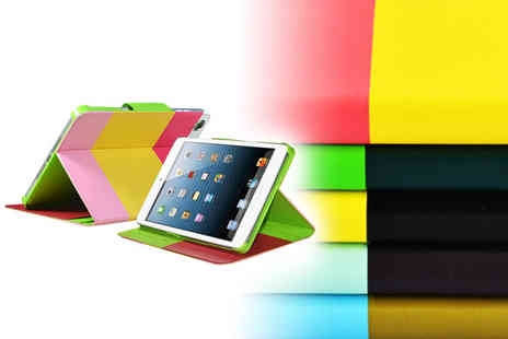 Mobileheads - Colourful faux leather iPad wallet - Save 71%