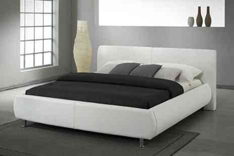 Sleep Design - Candyce Bed Frame in Double or King Size - Save 26%