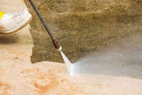 Ashcroft Pressure Washing Services - Driveway Cleaning and Re Sanding - Save 51%