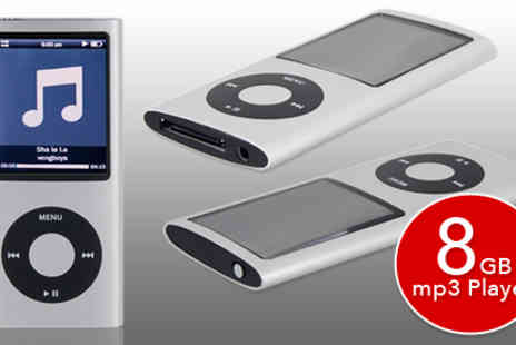 Ministry of Deals - 8gb MP3 and MP4 Video Player - Save 60%