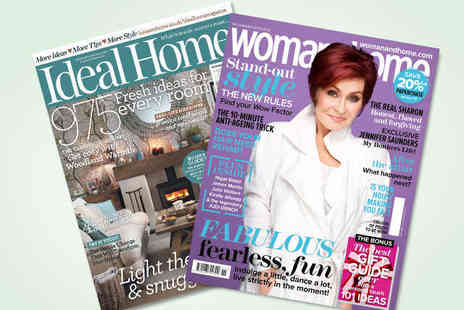 Ideal Home Magazine - One Year Subscription to woman & home or Ideal Home - Save 55%