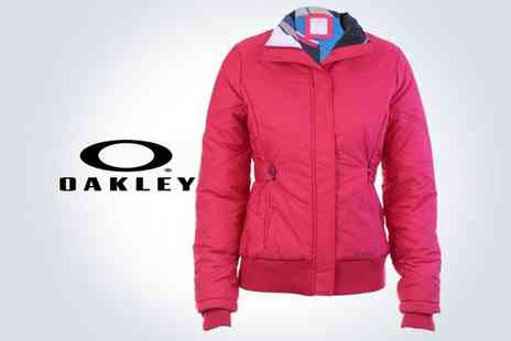 Brand Arena - Oakley cerise womens puffy ski jacket - Save 44%