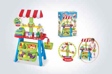 Deao Toys - Let your kids imagination run wild with a toy grocery stall - Save 50%