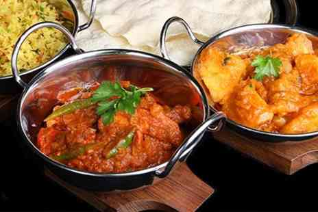 Royal Bengal - Indian Meal With Poppadoms and Sides - Save 51%