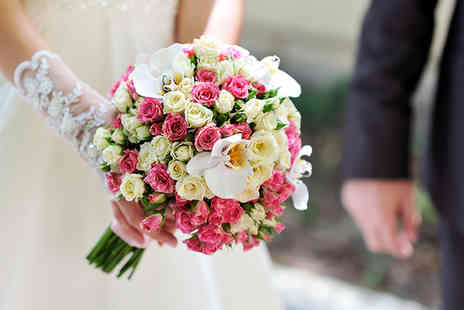 Moody Cows Florist - Two wedding flowers packages including centrepieces or bouquets - Save 50%