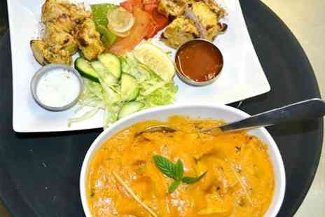 Curryosity - Two Course Indian Meal and Beer For Up to Ten - Save 49%